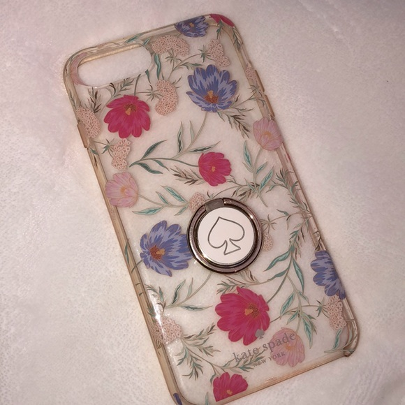 Kate Spade Floral IPhone 8 Plus With Ring Holder